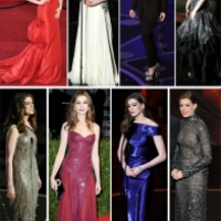 8 Dynamic Looks of Anne Hathaway (Oscars 2011)