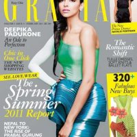 Deepika Padukone on the Cover of Grazia