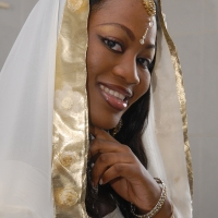 A Very Bollywood Style Wedding Ceremony For Former Miss Ghana Shaida Buari