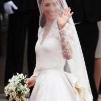 Kate Middleton's Veil and Tiara - The Royal Wedding 2011