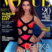 Breaking Fashion: Supermodel Deepika Padukone Covers Vogue India - June 2012