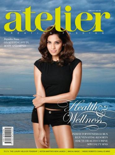 Mag Rack: More Bipasha Basu for all you Bips lovers out there, Bollywood's fittest diva covers Atelier - June 2012