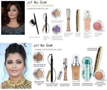 Aishwarya Rai-Bachchan - Get the Cannes Look Courtesy of L'Oreal Paris