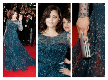 Cannes Fashion Alert: Aishwarya Rai-Bachchan Silences Her Critics by Flaunting Her Curvy Figure in Elie Saab at the Cosmopolis Premiere