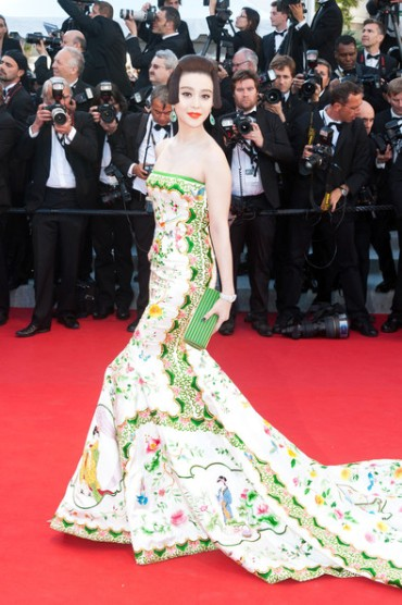 Today's Premiere Diva: Fan Bingbing turns them green with envy in Christopher Bu