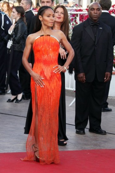 Jada Pinkett-Smith in Atelier Versace at the Cannes Film Festival Premiere of Madagascar 3 on Day 3