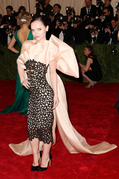 #1 Best Dressed @ the Met Gala 2012 – Christina Ricci in Thakoon