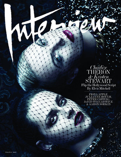 Flip the Hollywood Script: Charlize Theron and Kristen Stewart Cover Interview Magazine