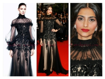 Cannes 2012 Finale - Bollywood's Sonam Kapoor's Red Carpet Report Card