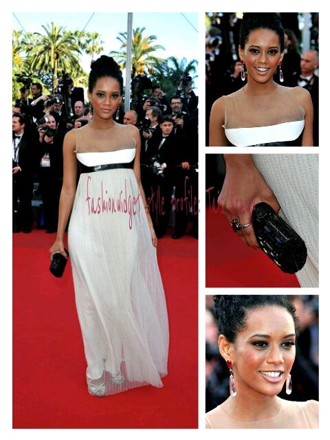Cannes 2012 Fashion Statement Alert: Tais Araujo in Pedro Lourenço