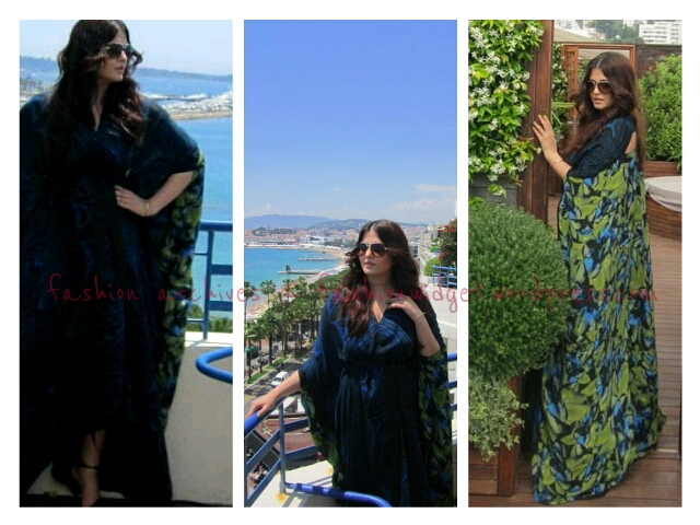 On Day 10 of the 2012 Cannes Film Festival, Aishwarya Chills Out in Roberto Cavalli for Her L'Oreal Photocall