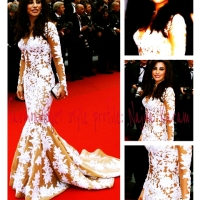 Arabic Singer Najwa Karam Heats Up Day 6 at Cannes 2012 in Zuhair Murad
