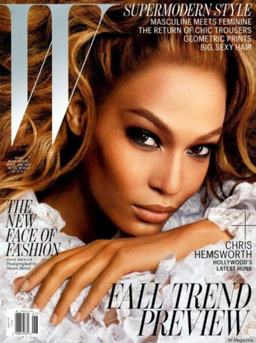 The New Face of Fashion: Supermodel Joan Smalls covers W Magazine