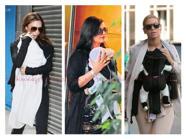 How to be stylish and protect your bundle of joy Bollywood-Hollywood Style