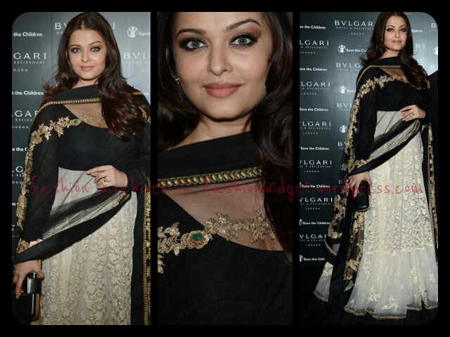 Aishwarya Rai-Bachchan dons Classic Sabyasachi Mukherjee at the Bvlgari Hotel Launch in London