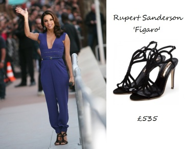Shoe Rack: Finally found those shoes Eva Longoria wore recently on 'Le Grand Journal' in France
