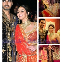 Bollywood Fashion Update: Actress Esha Deol Rocks Designer Rocky S at Her Pre-Wedding Party