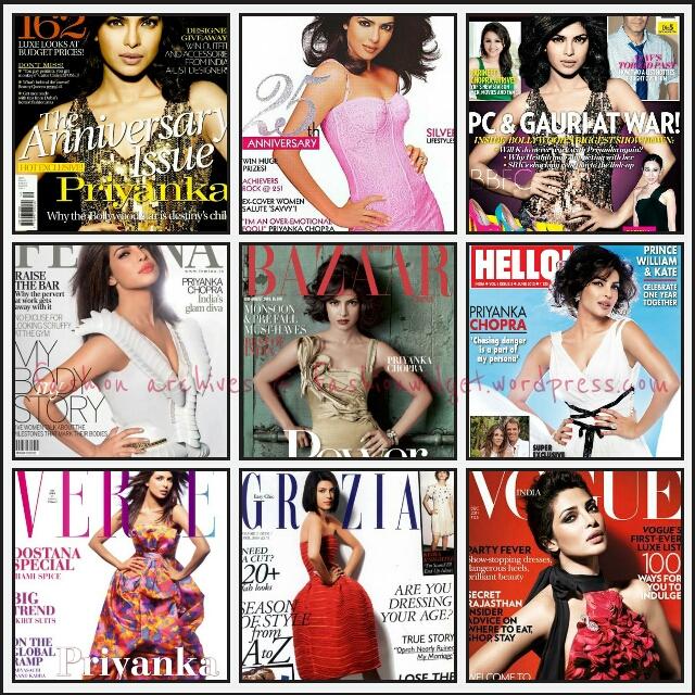 Cover Girl: An Open Letter to 'Fashion' Actress Priyanka Chopra