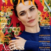 Mag Rack: Wow! Rachel Weisz Somebody at Vogue HQ is in Love with You!