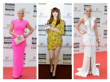 Top 3 Best Dressed at the 2012 Scottish Fashion Awards in Glasgow