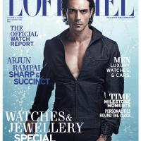 Mag Rack: Actor Arjun Rampal Covers L'Officiel in Gucci & Omega