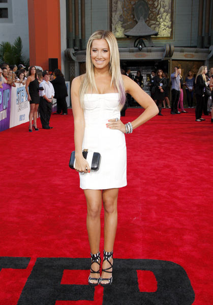 The Look of the Day: Ashley Tisedale in a LWD by Camilla and Marc at the Step Up Revolution Premiere