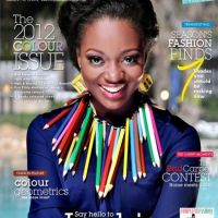 Cover Girl: Jackie Appiah Dazzles Complete Fashion Magazine's 2012 Colour Issue