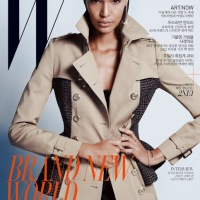 Mag Rack: Joan Smalls Covers W Magazine Korea - August 2012 + Shop the Look