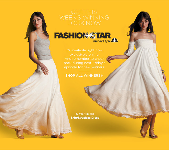 "Friday's STAR"" Winners Now Available at Saks Fifth Avenue Online"