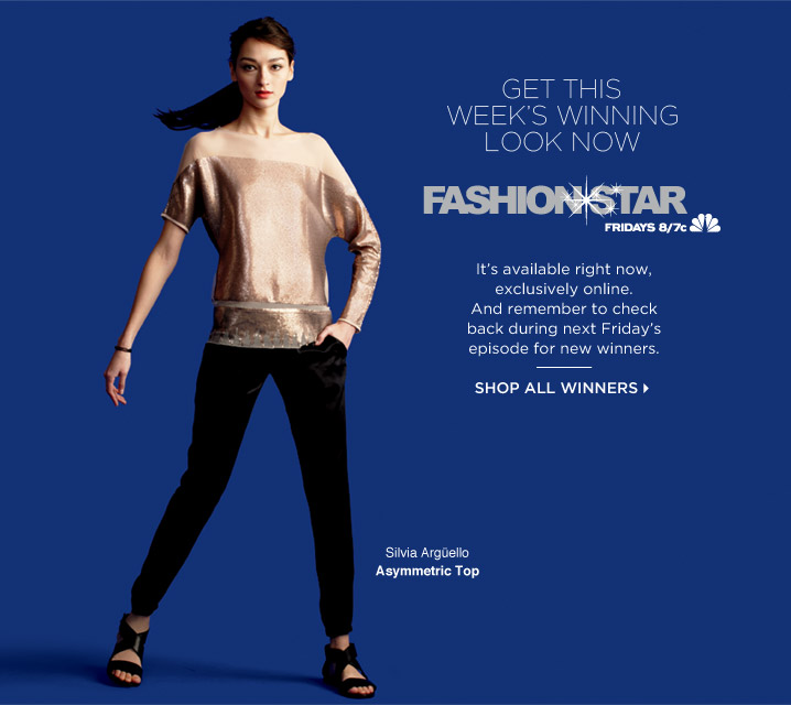 Fashion*Star's Winning Look for Friday April 26th, 2013 is Available to Buy Now