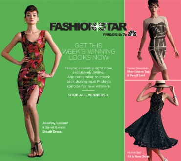 The Latest Fashion*Star Winning Designs Are Still Available at SAKS Online - Shop Now