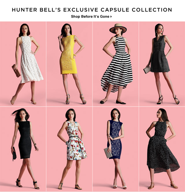 Fashion*Star Hunter Bell's Capsule Collection Available Now at SAKS Online – Shop While Supplies Last